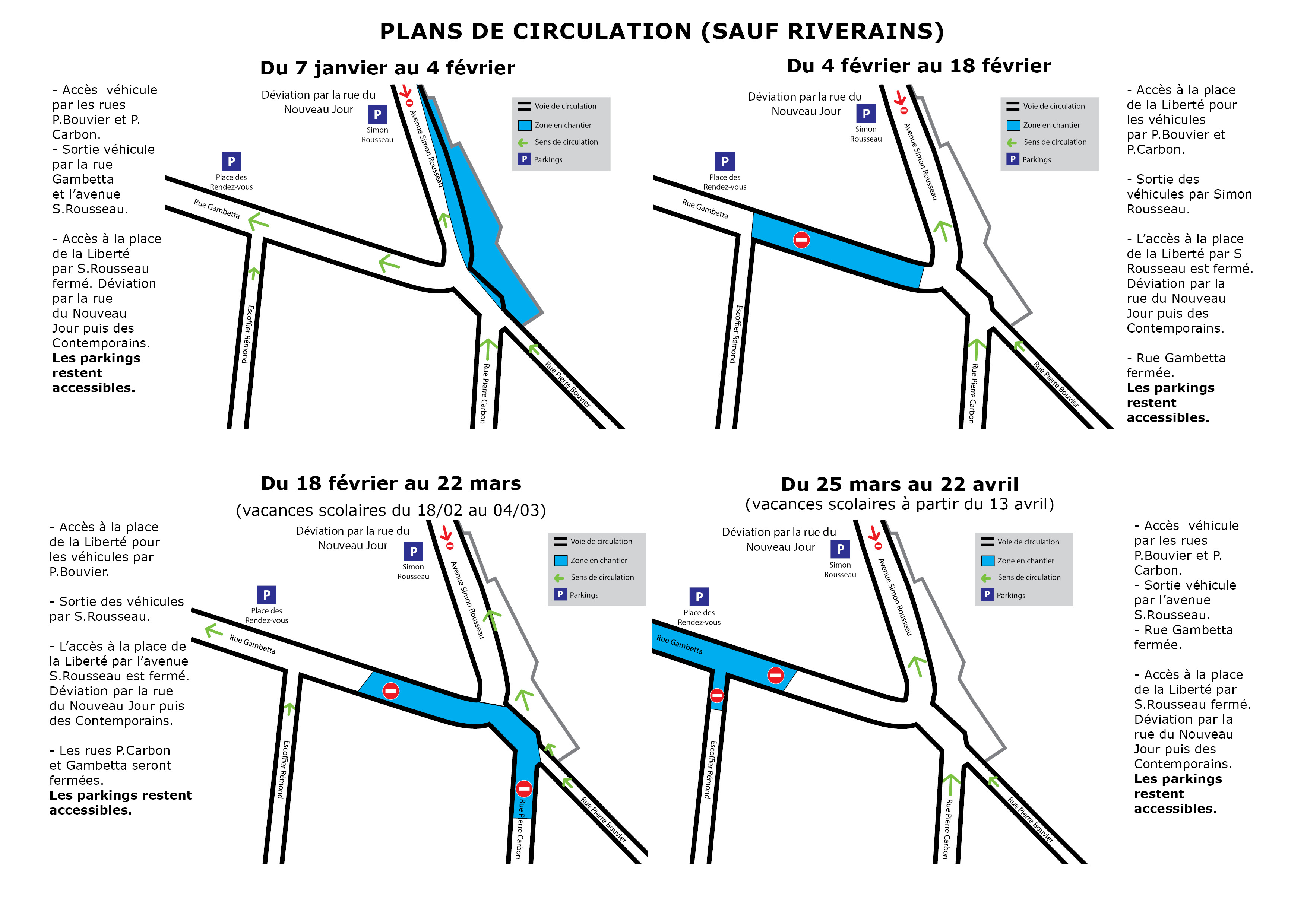 Info riverains